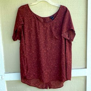 Torrid   blouse with button detailing down back 1